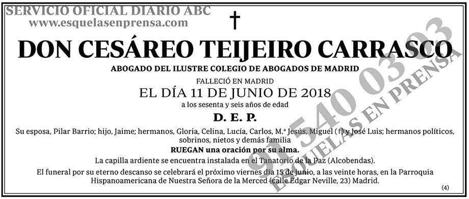 Cesáreo Teijeiro Carrasco